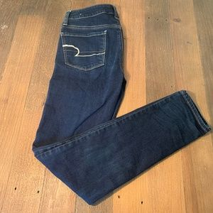 American Eagle Size 2 Blue Skinny Jeans